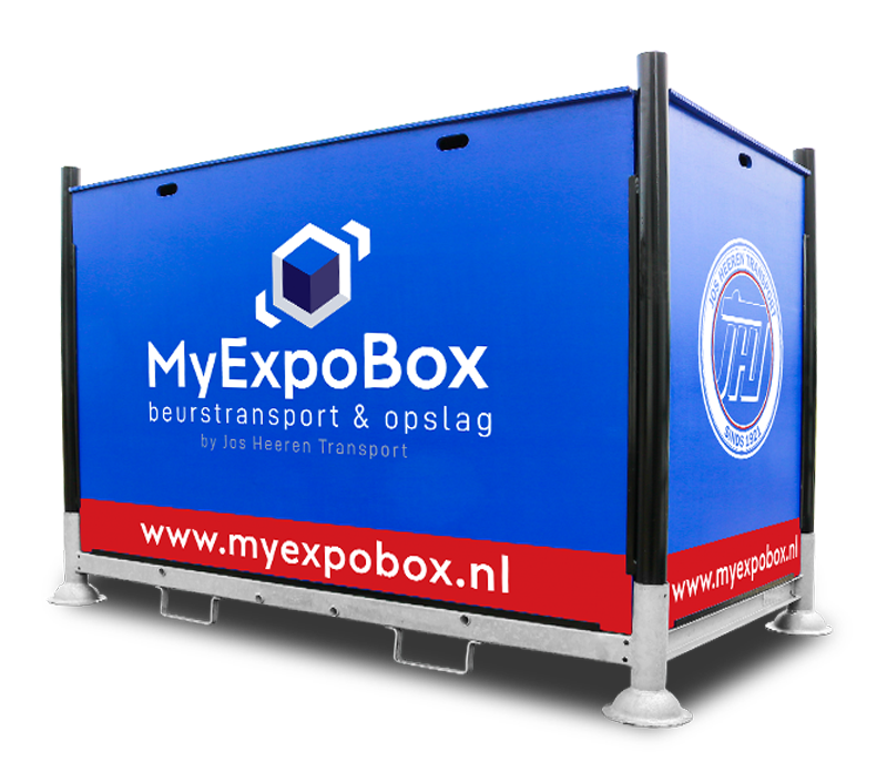 MyExpoBox beursopslag & beurstransport