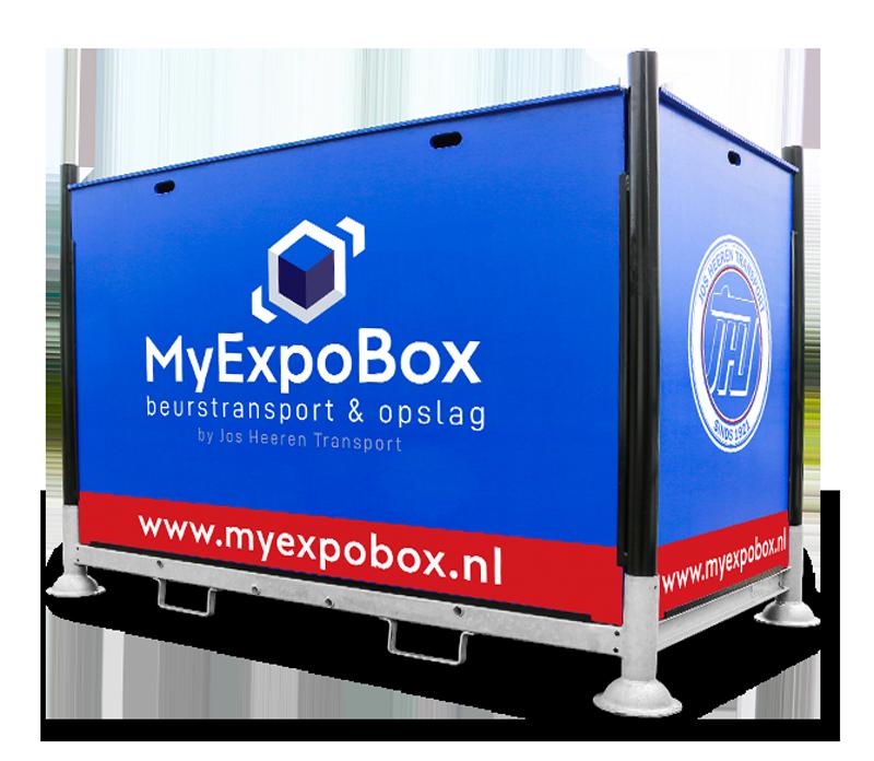MyExpoBox beursopslag & beurstransport